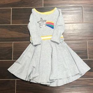 Mini Boden 4-5y Star dress GUC